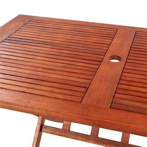 wood rectangular wooden outdoor dining table