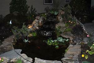 Custom Christmas Lighting Llc Dreamscape Design Small Pond 6 39 X 10 39 The Project Was