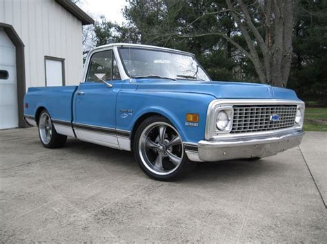 1971 Chevrolet C10 by 1971 Chevrolet C10 Shortbed For Sale Crestwood Kentucky