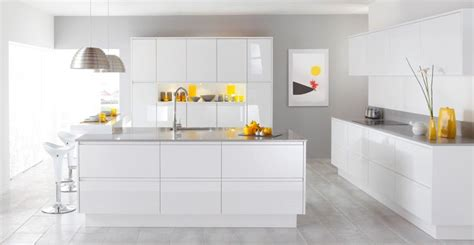 cuisine laqu馥 blanche ikea cuisine blanche laquée le des cuisines