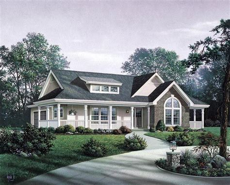 Bungalow Country Craftsman Ranch House Plan 87811 Total