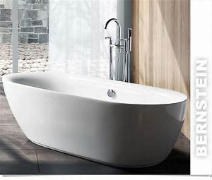 Freistehende Armatur Wanne : bernstein design badewanne freistehende wanne roma acryl ~ Michelbontemps.com Haus und Dekorationen