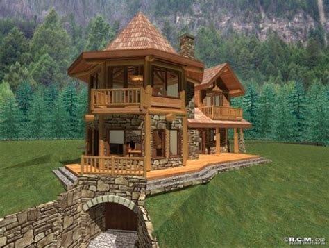 small house plana storybook cabin cottage