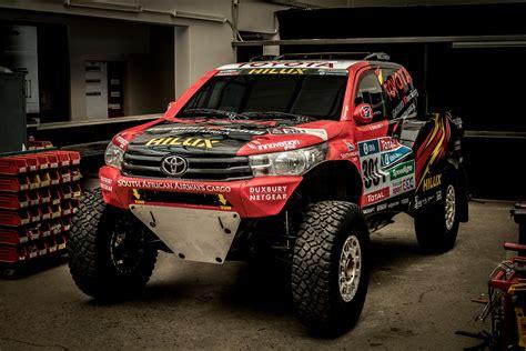 Toyota Gazoo Racing unveil 2017 Dakar Rally Hilux Evo ...