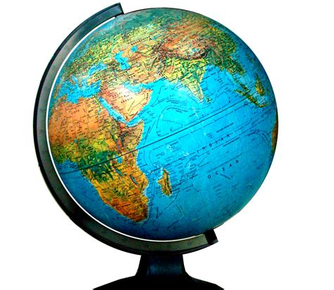 world globe l the world continents and oceans ssc coaching