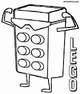 Coloring Lego Block Minifigures Popular sketch template