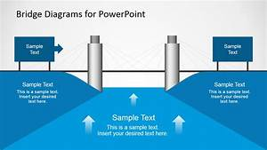 2d Bridge Diagrams Template For Powerpoint