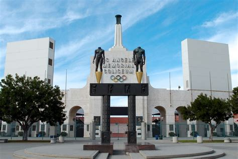 usc sells memorial coliseum naming rights  united