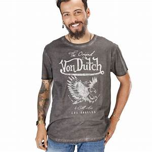 T Shirt Champion Homme : t shirt homme von dutch eagle ~ Melissatoandfro.com Idées de Décoration