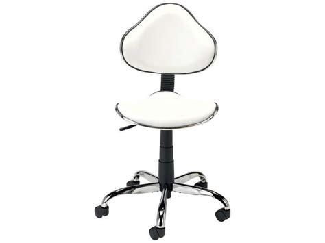 chaises de bureau conforama chaise dactylo coloris blanc vente de fauteuil de