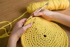 Corbeille Au Crochet : tutoriel un panier de rangement au crochet marie claire ~ Preciouscoupons.com Idées de Décoration