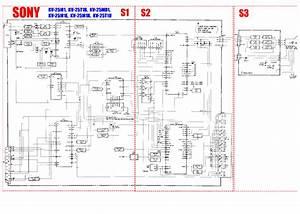 Sony Kv25m1 Tv D Service Manual Download  Schematics