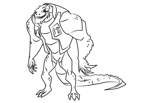 coloring pages coloring pages killer croc printable  kids adults