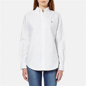 Polo Ralph Lauren Women's Harper Shirt - White - Free UK ...