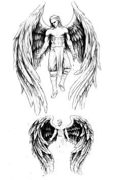 Guardian Angel Tattoo For Men Tattoos Designs I need one of these! not the tattoo, the angel