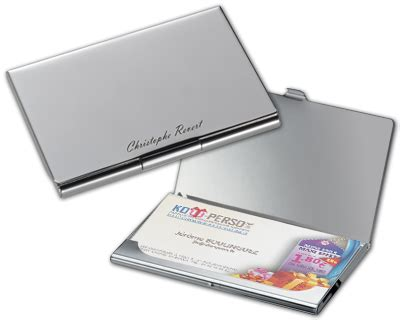 porte cartes de visite personnalis 233 grav 233 cadeau personnalis 233 et id 233 e cadeau original