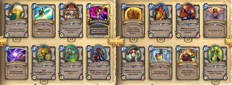 priest deck hearthpwn priest deck any ideas priest class discussion