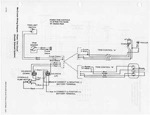Mercruiser Power Trim Limit Switch Wiring Diagram