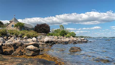 foto de Enders Island scenes Beach Wallpaper by Bob Gundersen