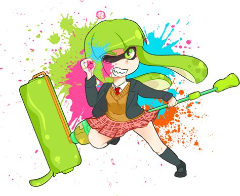 Splatoon! By Minnajones On Deviantart