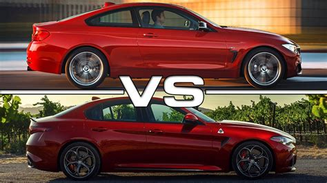Bmw 4 Series Coupe Vs Alfa Romeo Giulia