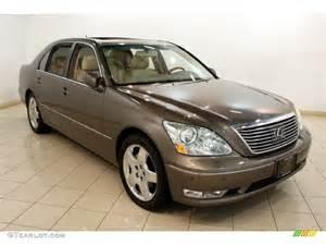 lexus sedan 2005 2005 briarwood pearl lexus ls 430 sedan 81349323