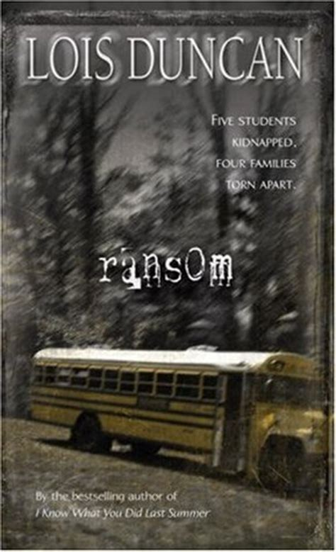 ransom  lois duncan reviews discussion bookclubs lists