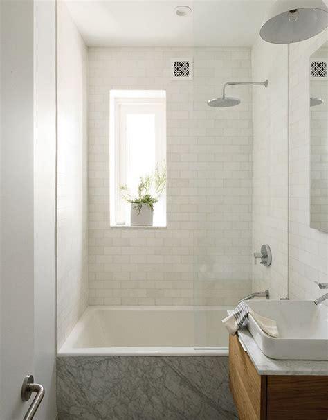 1000 ideas about small narrow bathroom on