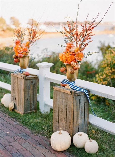 chic fall wedding decor ideas b loved boston