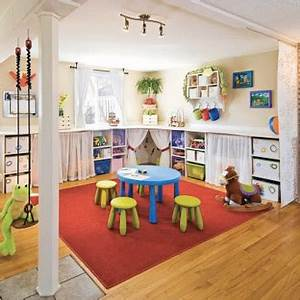 Meuble Rangement Salle De Jeux : id es de rangements astucieux pour la salle de jeux des enfants ~ Teatrodelosmanantiales.com Idées de Décoration