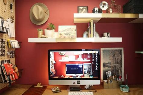 Gothenburgs Small Stylish Smart Home by Smart And Stylish Updates For A Small Home Office Diy