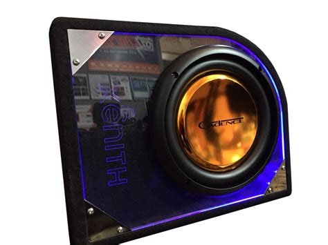 light up subwoofers cadence 10 quot slim subwoofer sub box with led light up 400