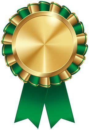 rosette ribbon green transparent image   ribbon