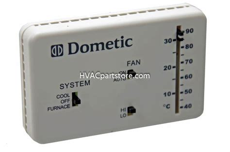 Dometic Furnace Wiring by 3106995 032 Dometic Analog Rv Thermostat Hvacpartstore