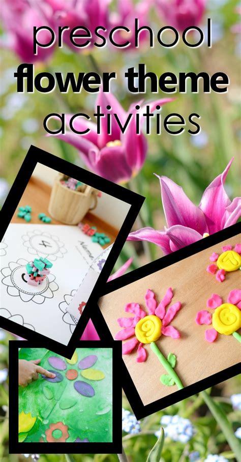flower theme preschool activities fantastic amp learning 788 | preschool flower theme pin