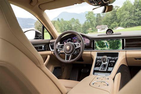 porsche panamera 2017 interior 2017 porsche panamera turbo interior motor trend 2017