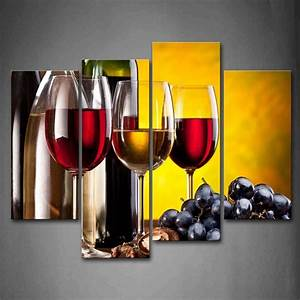 Home Decoration Living Room Canvas Print painting 4 pieces ...
