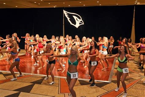 arizona cardinals cheerleader auditions sports illustrated