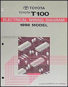 1998 Toyota Air Conditioner Installation Manual Original