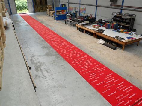 roter teppich für den freeformer lassen sie ihren individuellen teppich fußmatte oder