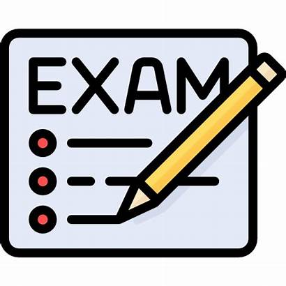 Ujian Test Exam Schedule Icon Semester Informasi