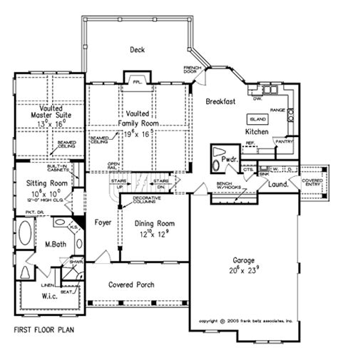 Frank Betz Home Floor Plans by Hedgerow Home Plans And House Plans By Frank Betz Associates