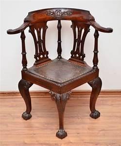 Magnifica Cadeira De Canto D Joo V Em Jacarand Com