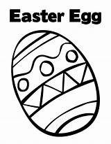 Easter Egg Coloring Eggs Printable Colouring Bunny Printables Tangled Zags Zig Sun Flower Library Jyxuvawaky sketch template