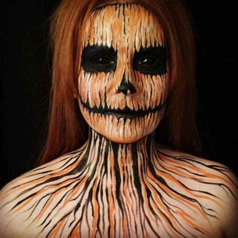 25+ Evilscary Halloween Face Paint Ideas For Women