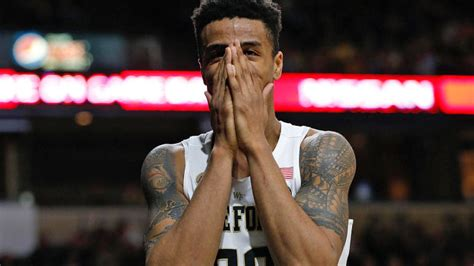 wake forests john collins    player  america