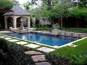 Photos hgtv for Pool garden ideas