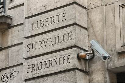 Egalite Liberte Fraternite Photoshop Devise Camera Surveillance