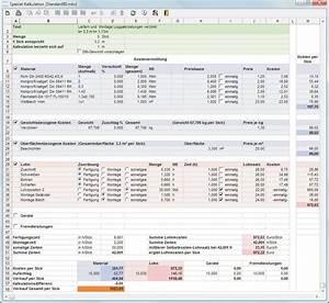 Stundensatz Berechnen Handwerk : charmant kosten kalkulationstabelle vorlage kostenlos ~ Themetempest.com Abrechnung