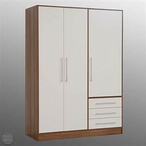 Kleiderschrank Nussbaum Weiß : kleiderschrank walnuss bestseller shop f r m bel und einrichtungen ~ Indierocktalk.com Haus und Dekorationen